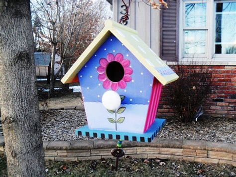 ideas for decorating wooden birdhouses bird houses
