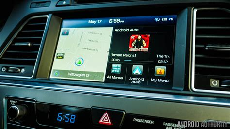 Android Auto by Android Auto Review Hyundai Sonata 2015