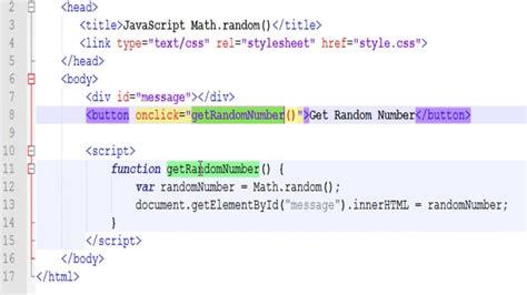 javascript tutorial math javascript math random math floor and math ceil youtube
