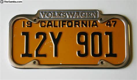 thesamba vw classifieds vw license plate frame