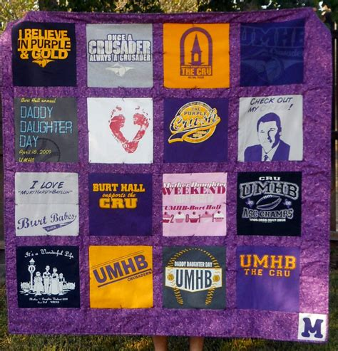 T Shirt Quilt Backing by Ellyn S Place Tshirt Quilt