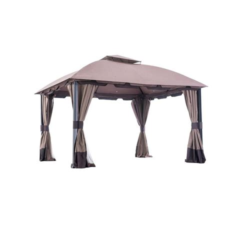gazebo shop sunjoy 12 ft x 10 ft domed top gazebo shop