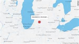 us map kalamazoo michigan kalamazoo shooting spree what we and don t