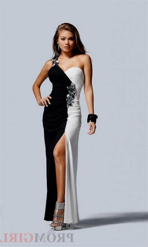 Black White List Dress black and white quinceanera dresses 2015 naf dresses