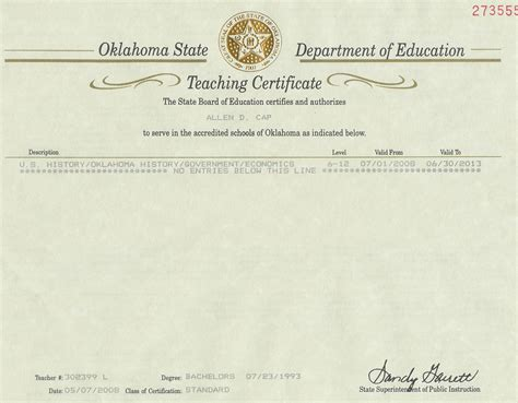 Oklahoma State Distance Learning Mba by Oklahoma Certification