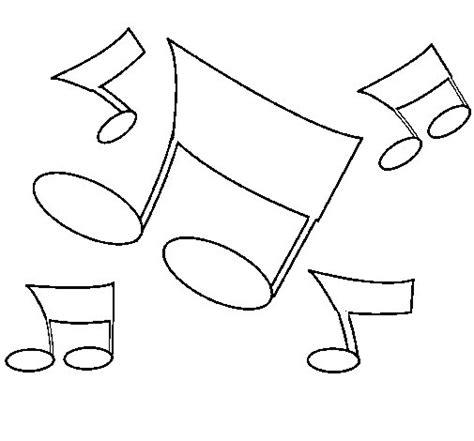 bordes para notitas colouring pages dibujo de notas musicales para colorear dibujos net