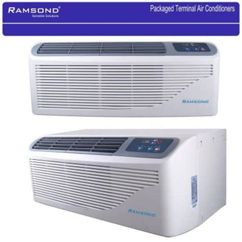 15000 btu air conditioner room size ramsond packaged terminal air conditioning 15 000 btu 1 25 ton 5 kw electrical heater kcd 45