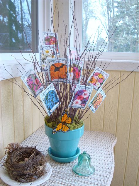 Ideas For Door Prize Giveaways - seed packet bouquet very cute idea for a spring baby shower party on pinterest
