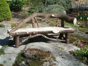 Backyard Landscaping Ideas With Stones Rustic Garden Bench Provides Unique Exterior Fresh