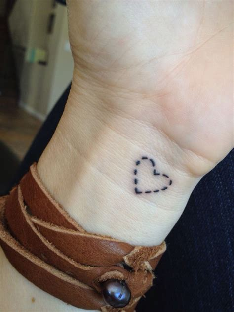 small heart tattoo tattoos pinterest
