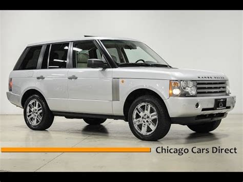 how to learn everything about cars 2005 land rover discovery auto manual chicago cars direct reviews presents a 2005 land rover range rover hse a189566 youtube