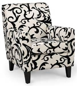 Black And White Accent Chairs With Arms Angelo Home Sutton Modern Lemongrass Paisley Arm Accent