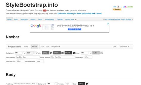 twitter bootstrap layout generator collection of great twitter bootstrap resources for