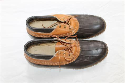 bean boots mens s ll bean boot rubber moc duck bean boot size 13 low