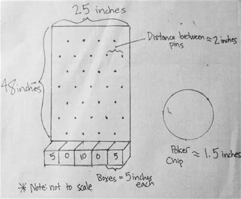 John Torres Pardi Plinko Plans Plinko Board Template