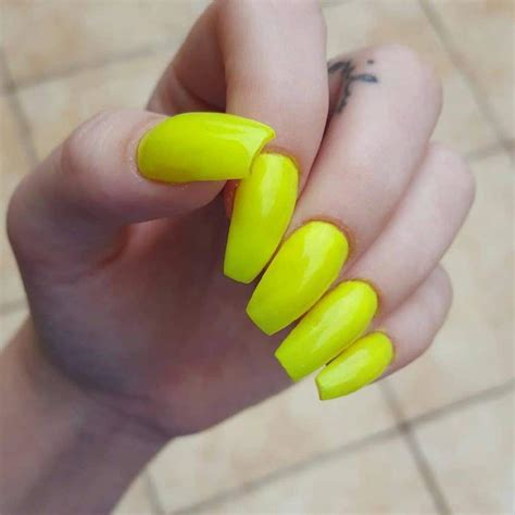 nails designs yellow acrylic and white 75 epic acrylic nail designs for real nail lovers