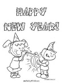 coloring pages happy new year 2011 coloring pages