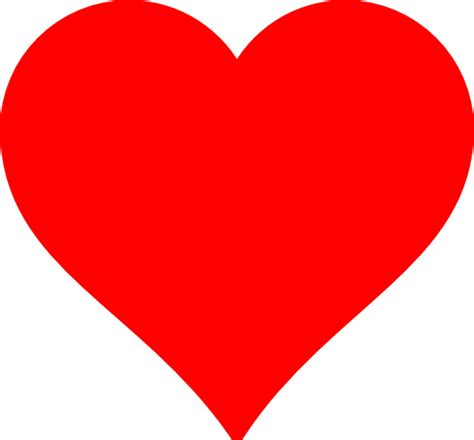 clipart stylish red heart red heart clip art at clker com vector clip art online