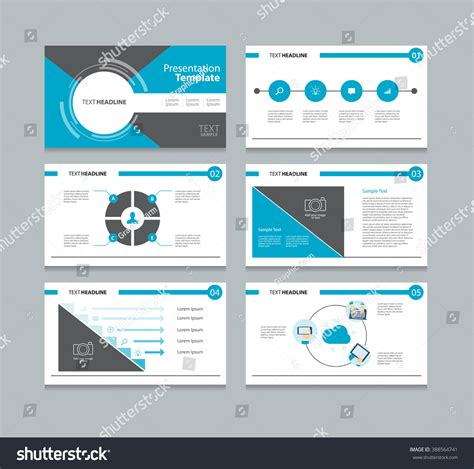 Slides Brochure Template by Business Presentation Slide Backgrounds Template Cover