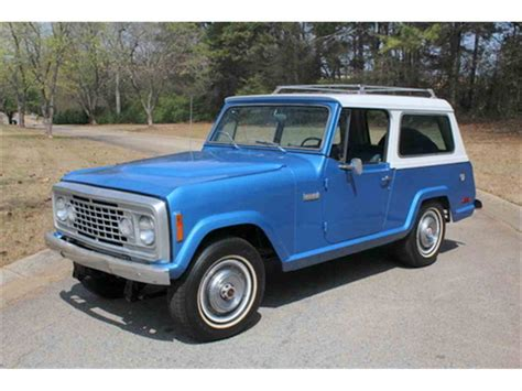 jeep jeepster for sale 1972 jeep commando for sale classiccars com cc 971254