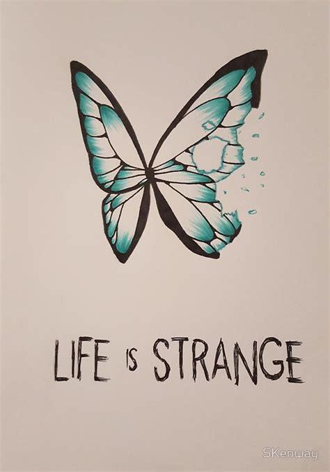 Bathroom Body Works Life Is Strange Butterfly Sticker Http Www Redbubble Com