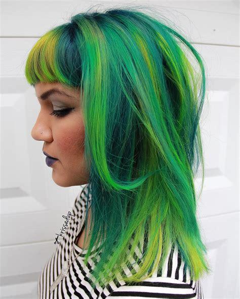 hair green 20 ways to rock green hair