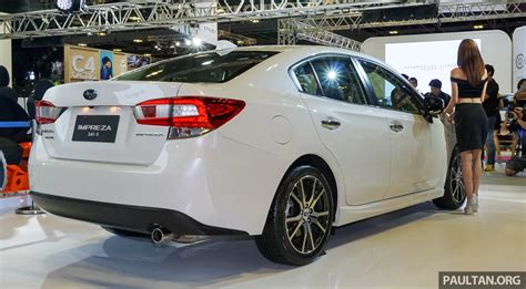 2017 subaru impreza hatchback white 2017 subaru impreza launched in singapore sedan and