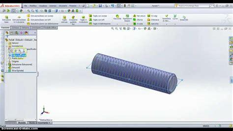 Tutorial Solidworks Ita | tutorial ita solidworks filettatura esterna youtube