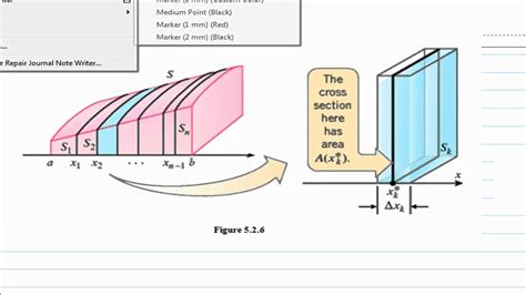 volume by cross section volume by slicing cross section q10a youtube