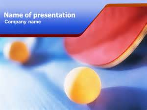 ping pong powerpoint template backgrounds 01310