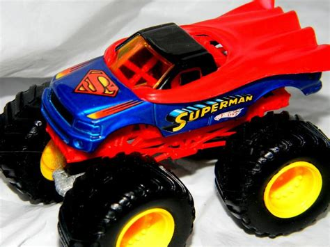 matchbox monster jam trucks wheels monster jam superman 32 monster truck