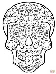 Scull Coloring Pages Az Coloring Pages