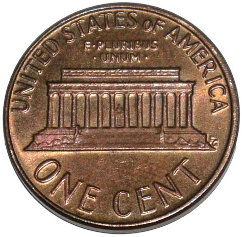 uni fg lettere 1 cent quot lincoln memorial quot 201 tats unis numista