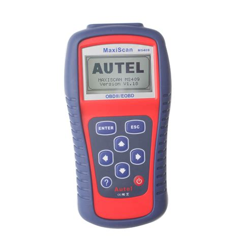 Aurell Maxi best price original autel maxiscan ms409 obdii eobd can
