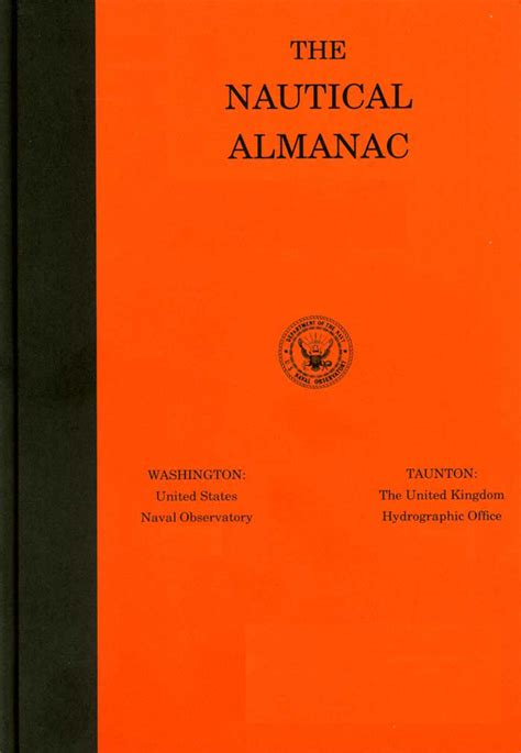 the nautical almanac for the year