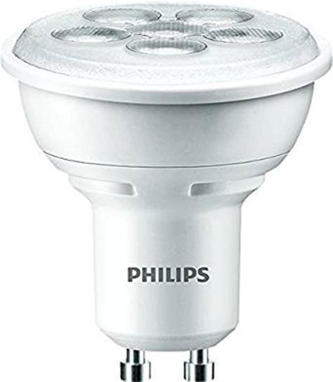 Lu Led Philips 4 Watt philips gu10 50 watt led spot bulb warm white co uk lighting