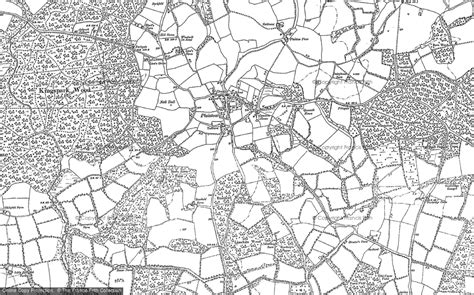old maps of plaistow francis frith
