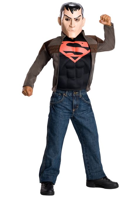 kids superboy costume