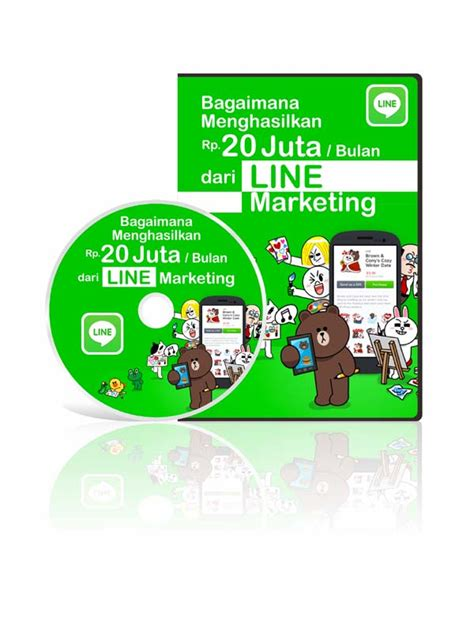 Line Marketing Ebook Panduan Cara Berjualan Di Line database supplier manajemen bisnis