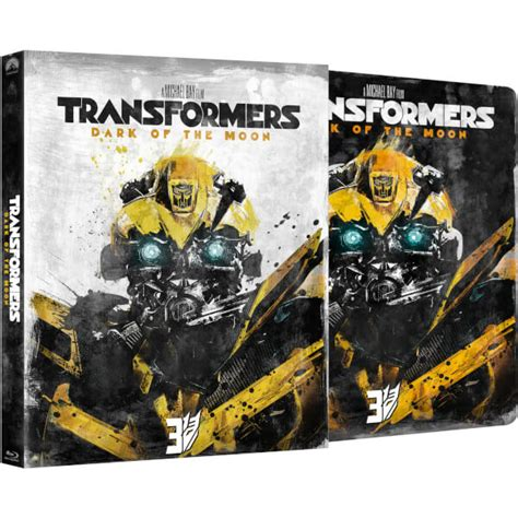 Transformers The Uk Exclusive Steelbook transformers 3 of the moon zavvi exclusive limited edition steelbook with slipcase