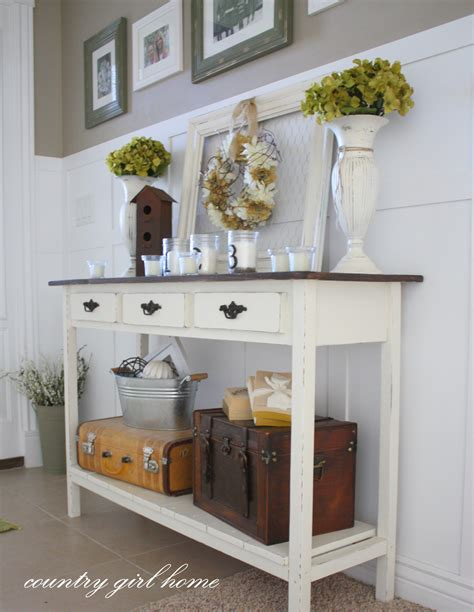 Dollar Store Home Decor Ideas by Upgrading An Entry Table Easy Diy Project