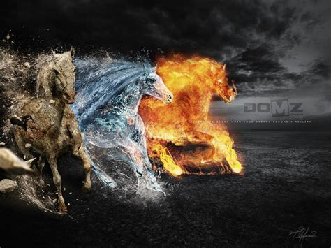 Element horses by domzdesigns domz advanced photoshop