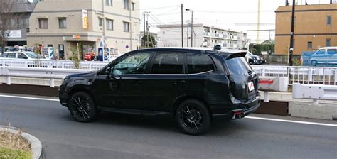 subaru forester black subaru forester 2018 black edition best cars for 2018
