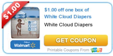white cloud diaper printable coupons hot 0 12 per diaper white cloud diapers at walmart