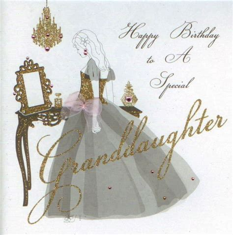 Granddaughter Birthday Card Mojolondon Granddaughter Birthday Card By Five Dollar Shake