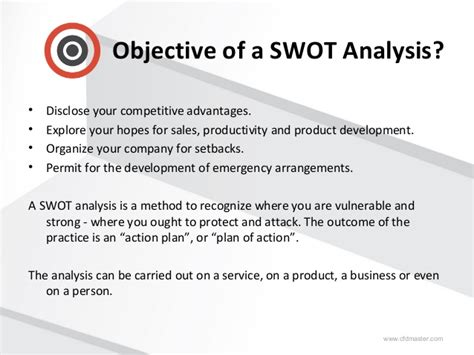 swot analysis sle report how to write a swot analysis report