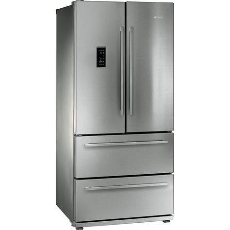 2 Door 2 Drawer Fridge Freezer by Refrigerators Free Standing Fq55fxe Smeg