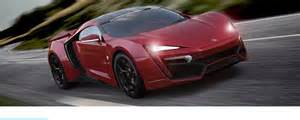 Lightning Hypersport Car Lykan Hypersport 2014 Est Mobile