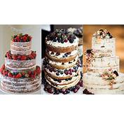Tendencia 2015 Naked Cakes  Mojacar Beach Weddings