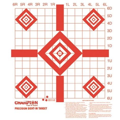 printable muzzleloader targets chion redfield style precision sight in target natchez